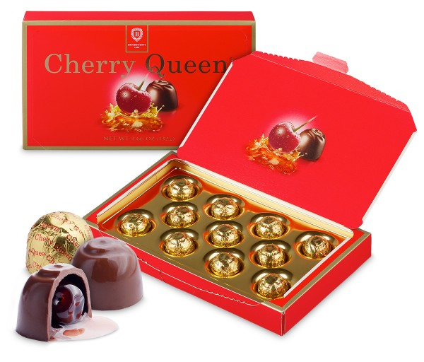 Cherry Queen<br>chocolate pralines with cherry