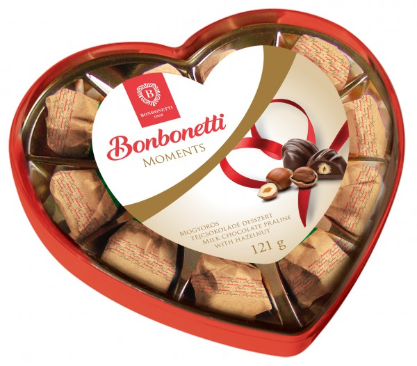 Bonbonetti Moments<br>milk chocolate praline with hazelnut