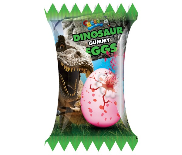 Crazy Gummy dino chewing gum 5g