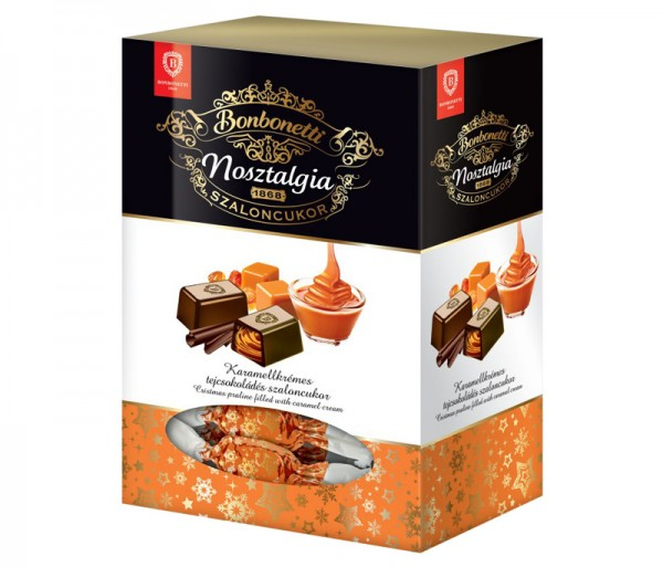 Bonbonetti Nosztalgia<br>Christmas praline filled with caramel cream