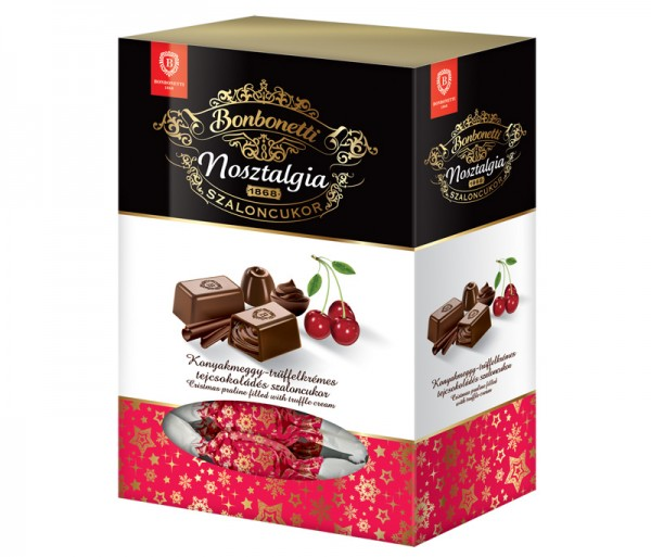Bonbonetti Nosztalgia<br>Christmas praline filled with truffle cream