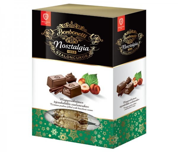 Bonbonetti Nosztalgia<br>Christmas praline filled with hazelnut cream