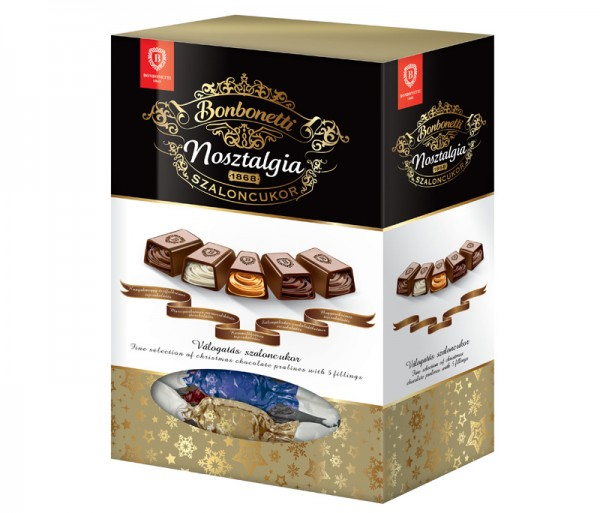 Bonbonetti Nosztalgia<br>fine selection of Christmas praline