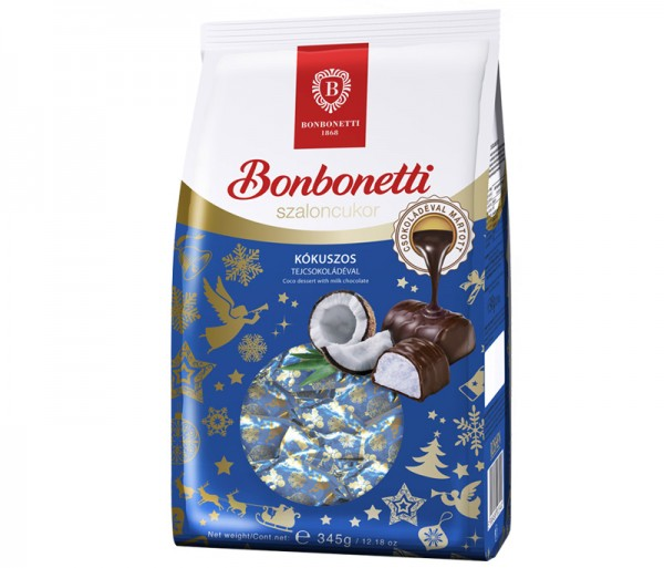 Bonbonetti dessert<br>coconut with milk chocolate