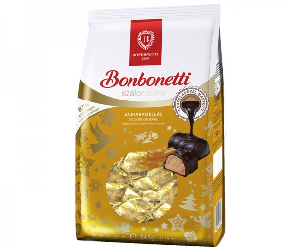 Bonbonetti dessert<br>buttercaramell with dark chocolate