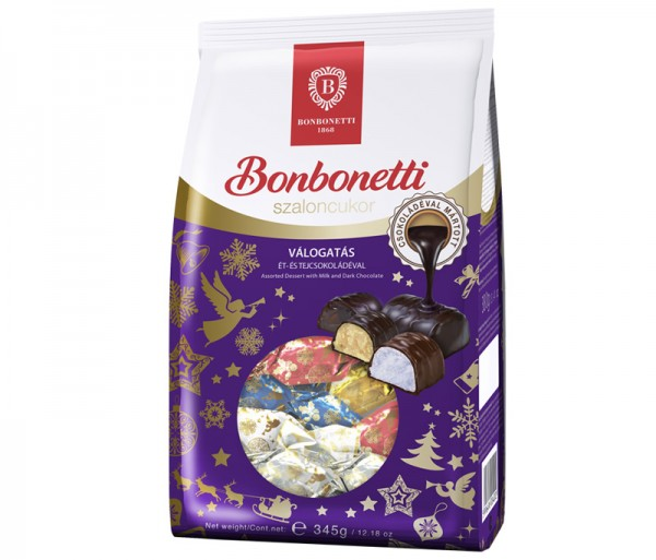 Bonbonetti dessert<br>assorted with dark and milk chocolate