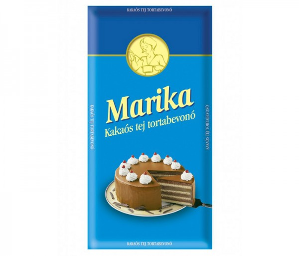 Marika cake coating with milk